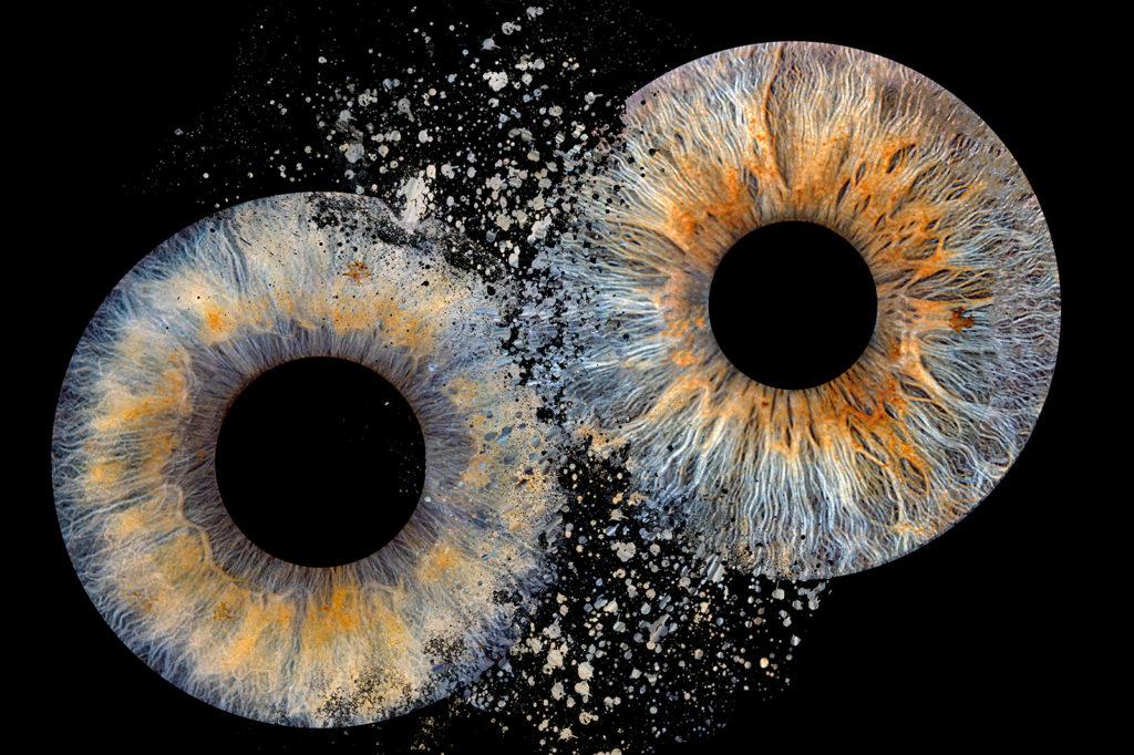 Irisfoto Gutscheine